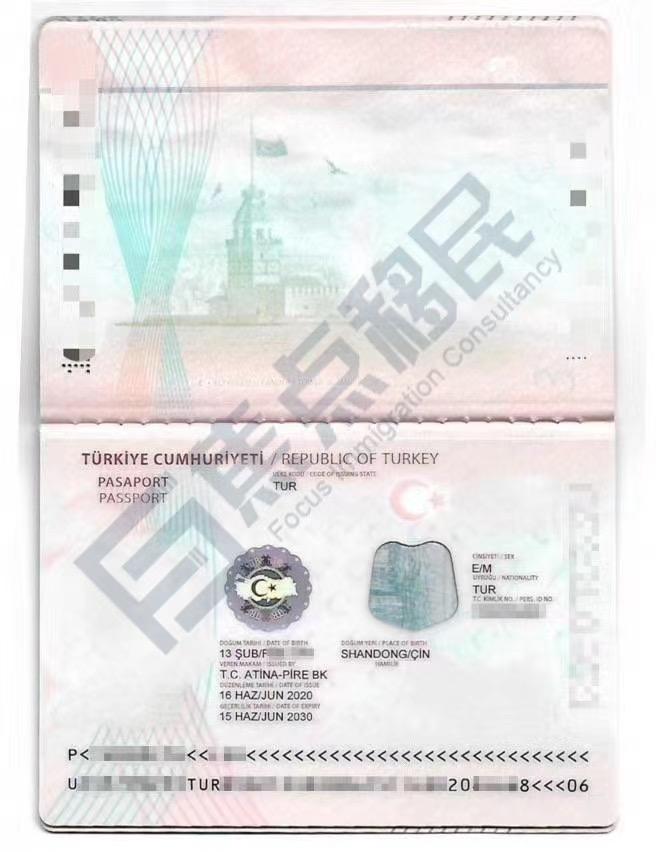2020年7月23土耳其投资护照项目成功案例!